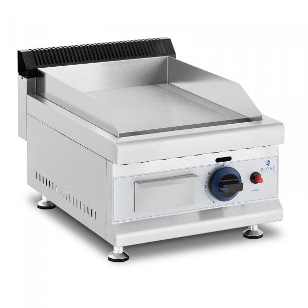 Plancha fry-top de gas - 35 x 40 cm - liso - 3.100 W - propano/butano - 0,02 bar