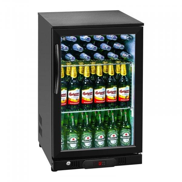 Segunda Mano Nevera expositora de bebidas - 108 L - interior de aluminio