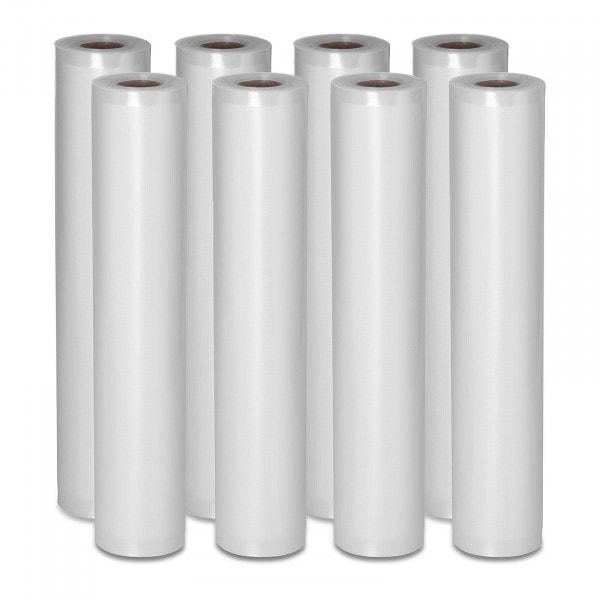 Rollos para envasar al vacío - 8 Rollos - 48 m - 30 cm