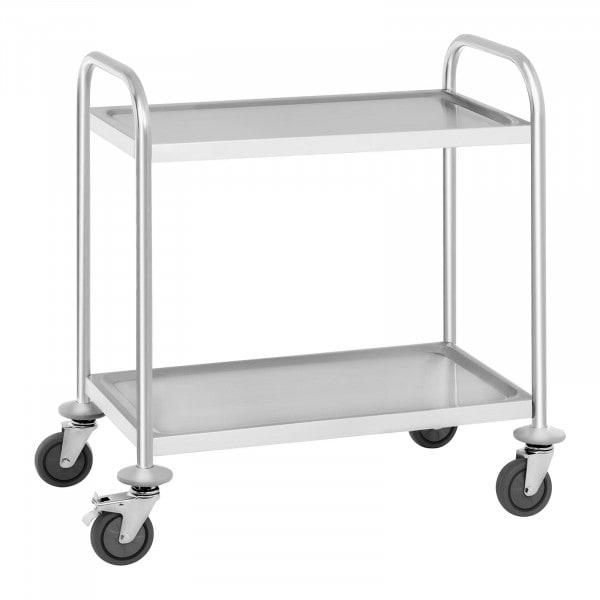 Carro de servicio - 2 estantes - hasta 150 kg
