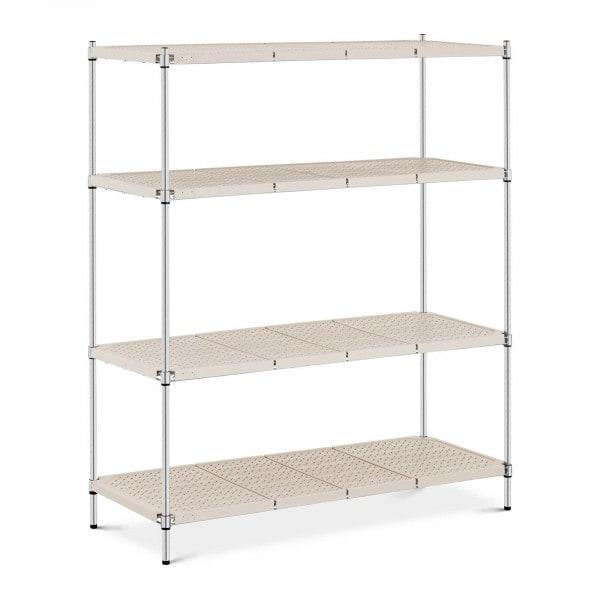 Estantería de metal - 150 x 60 x 180 cm - 600 kg - gris