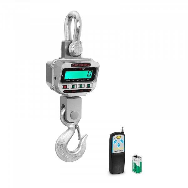 Dinamómetro digital - 10 t / 2 kg - LCD - 150 h