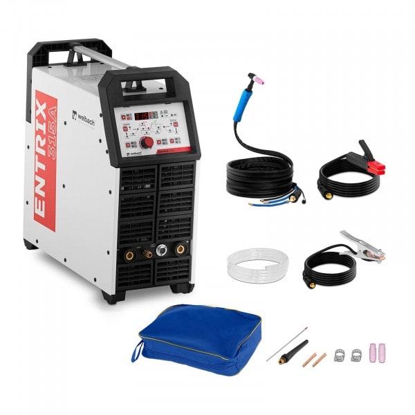 Soldador de aluminio - 315 A - 400 V - digital - pulso