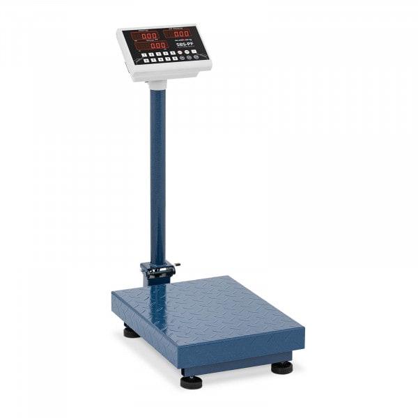 Báscula de plataforma - 100 kg /10g-plegable