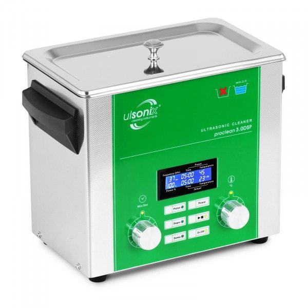 Limpiador por ultrasonidos - 3 litros - desgasificación - barrido - pulso