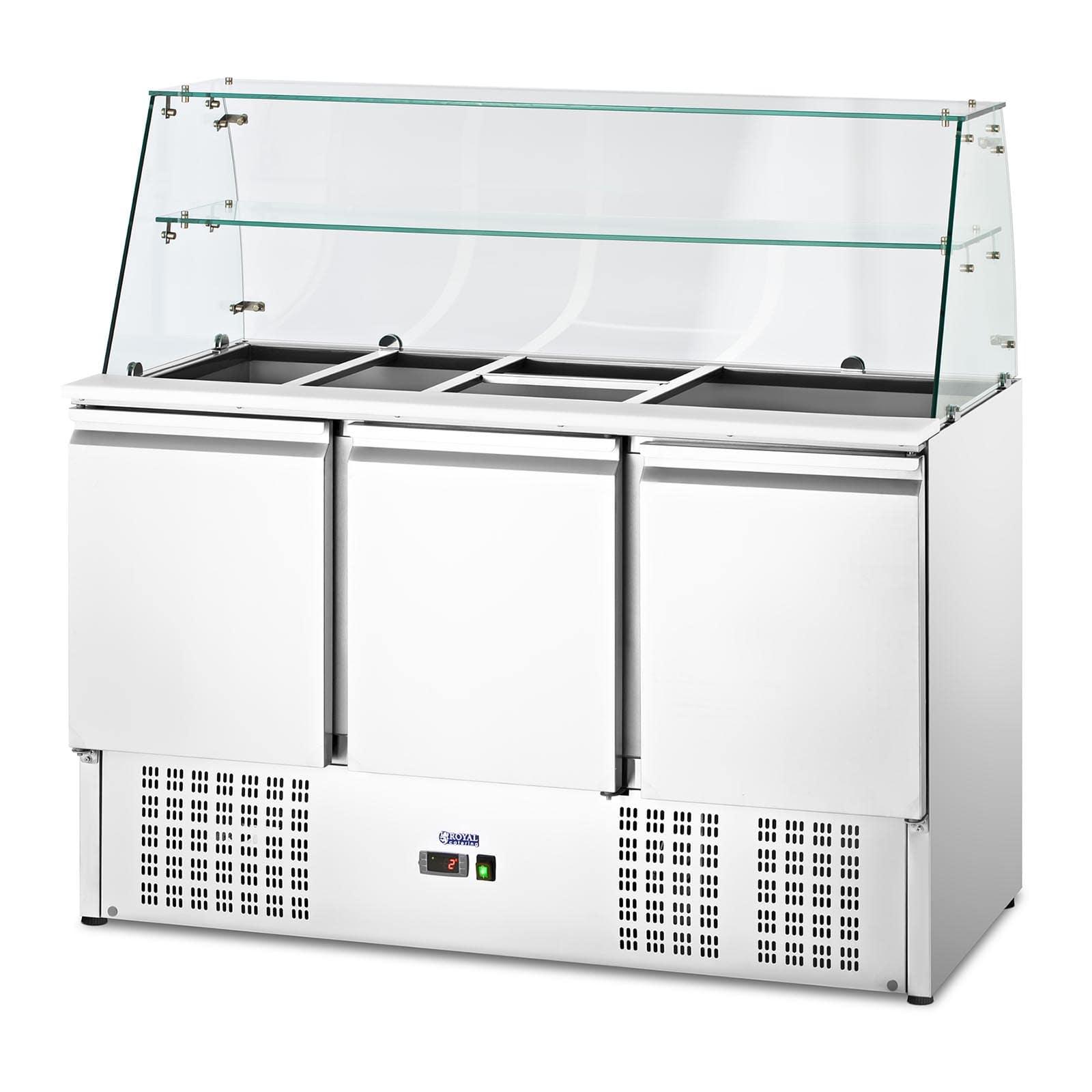 Bajomostrador refrigerado