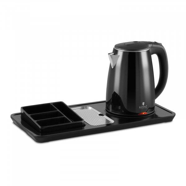 Hervidor de agua - estación de té y café - 1,2 L - 1.550 W - sin cable