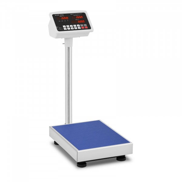 Báscula de plataforma - 100 kg / 10 g - LED