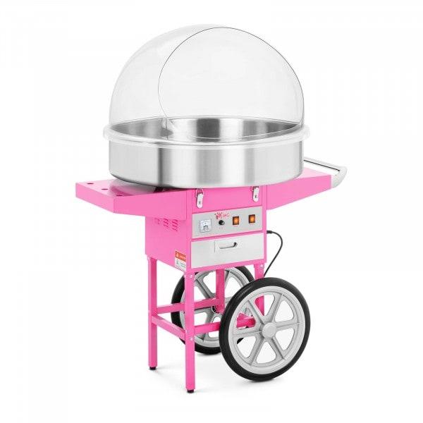 Máquina de algodón de azúcar - 72 cm - 1.200 watt - carro incluido