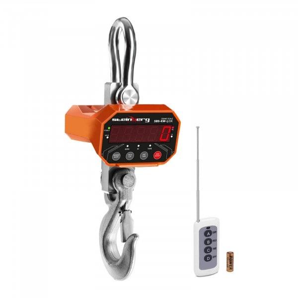 Dinamómetro digital - 5 t / 2 kg - LED