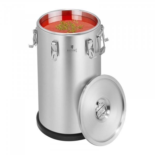 Contenedor isotérmico acero inoxidable 35L
