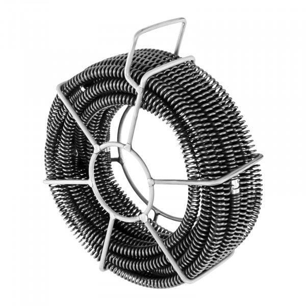 Sonda desatascadora de tuberías Set - 6 x 2,45 m - Ø 16 mm