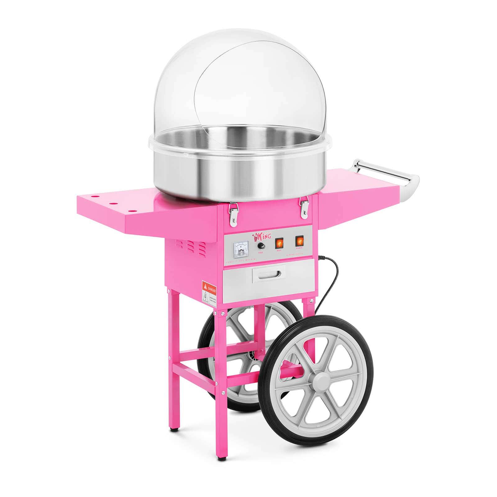 Máquinas de algodón de azúcar y accesorios