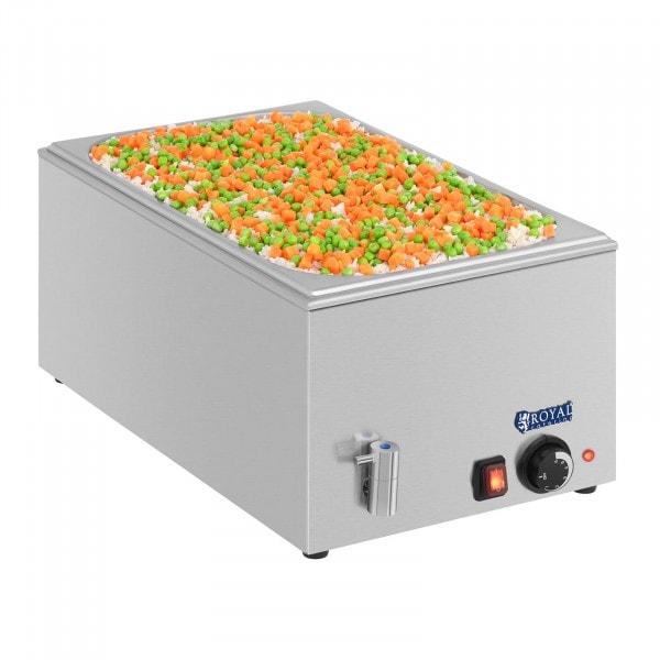 Baño maría - GN 1/1 - sin recipiente - grifo de vaciado