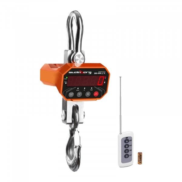 Dinamómetro digital - 3 t / 1 kg - LED