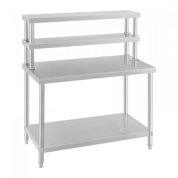 Arbeitstisch mit Aufsatzboard – 2 Ablagen - 1526 - 1