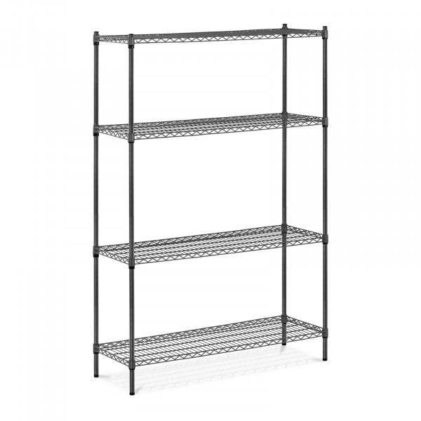 Estantería de metal - 120 x 45 x 180 cm - 1.000 kg - gris
