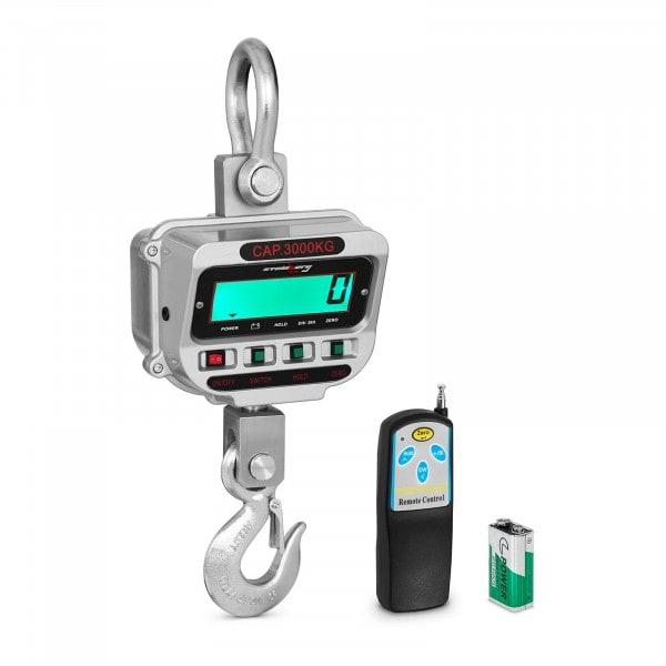 Dinamometro digital - 3 t / 0,5 kg - LCD