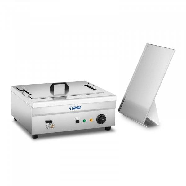 Freidora de pasteles - 18 litros - 3.200 watt - zona fría