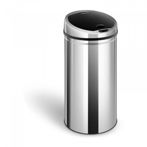 Cubo de basura con sensor - 50 L - redondo