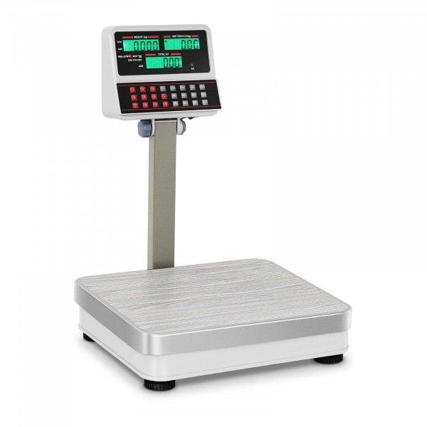 Balanza de control con pantalla superior LCD - 60 kg / 5 g