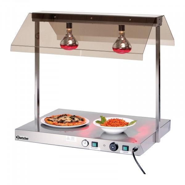 Calentador para buffet Bartscher con 2 lámparas