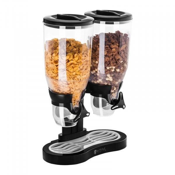 Dispensador de cereales 2 contenedores - 6 l