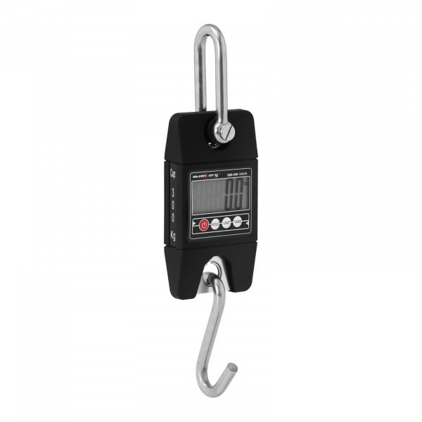 Dinamómetro digital - 300 kg / 100 g - negro - Basic