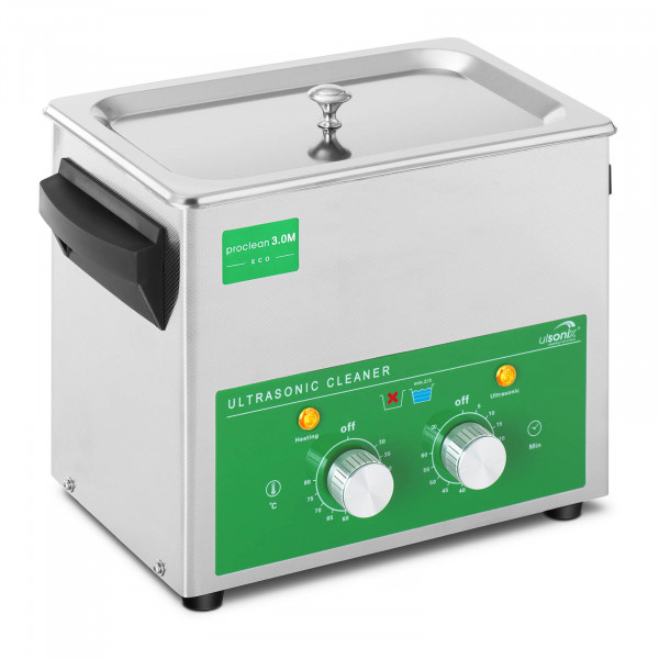 Limpiador ultrasonidos - 3 litros - 80 W - Basic Eco