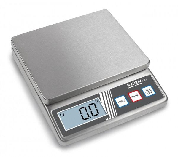 KERN Balanza de mesa FOB-S 5 kg / 1 g