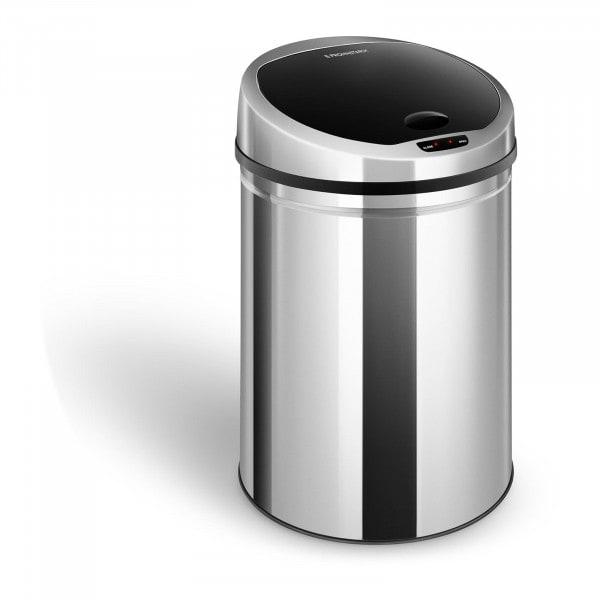 B-WARE Cubo de basura con sensor - 30 L - redondo - cubo extraíble