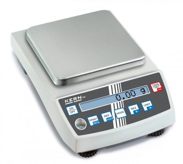 KERN Balanza de precisión - 2.000 g / 0,01 g