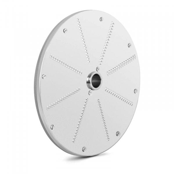 Disco rallador - 205 mm - grosor de corte 2 mm - acero inoxidable