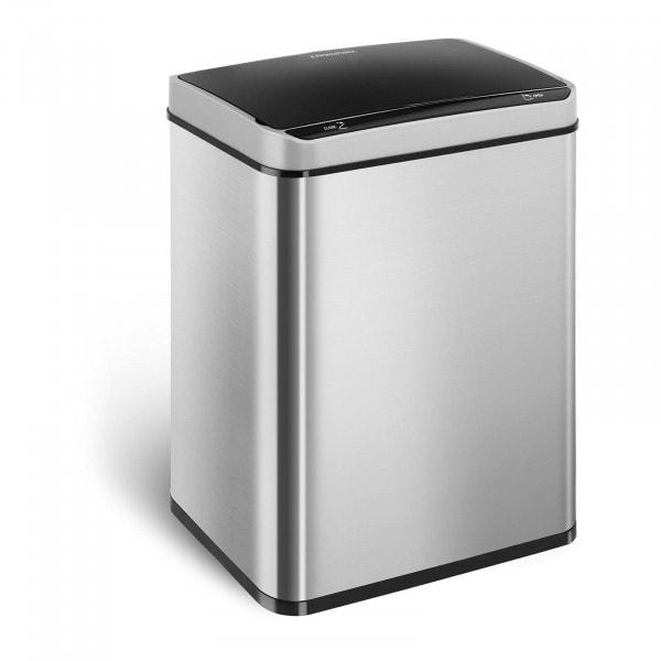 B-WARE Cubo de basura con sensor dúo - 50 L - rectangular