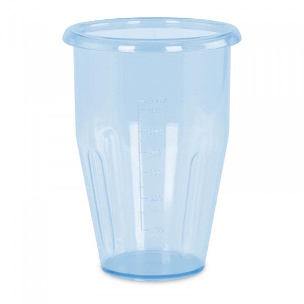 Vaso para batido - 0,75 L - Tritan - 115 x 160 mm - azul