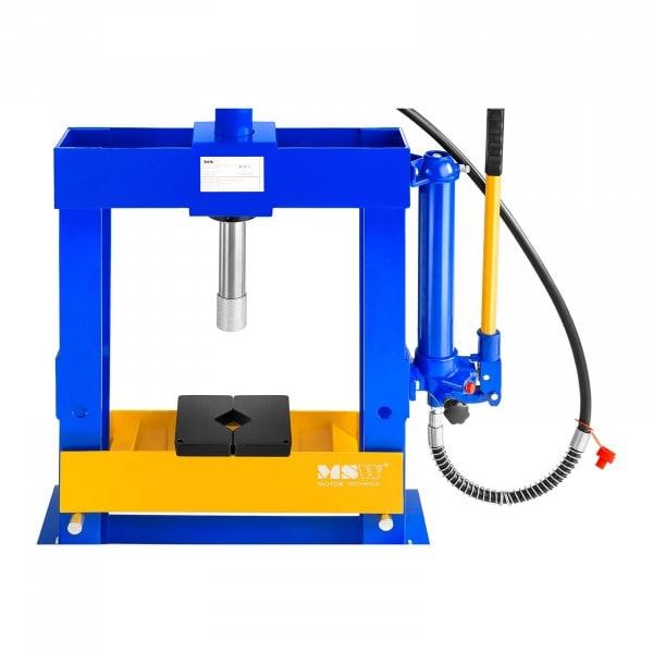 B-WARE Prensa hidráulica de taller - 10 t de presión
