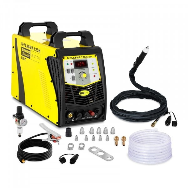 Cortadora de plasma CNC - 125 A - 400 V - HF