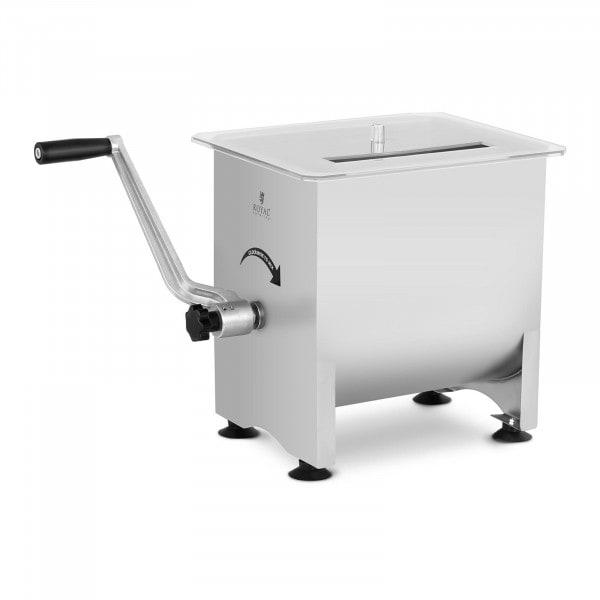 Mezcladora de carne - 16 L - acero inoxidable - manual