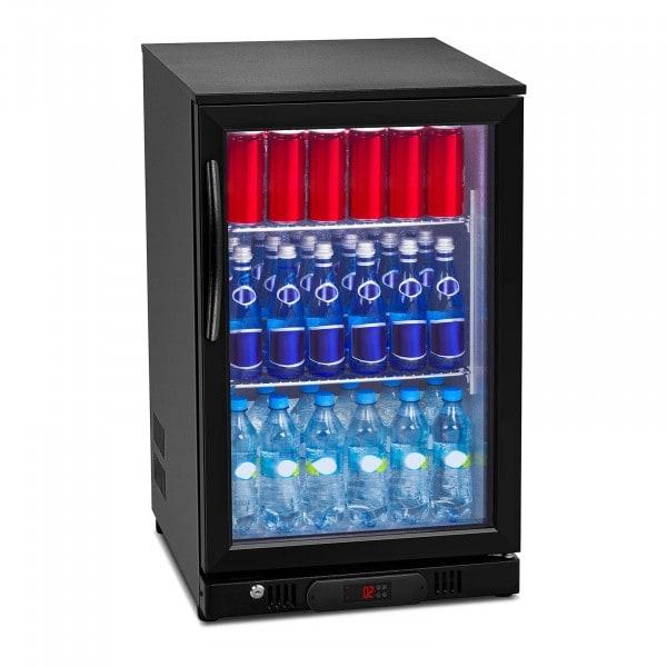 Nevera expositora de bebidas - 108 L - interior de aluminio