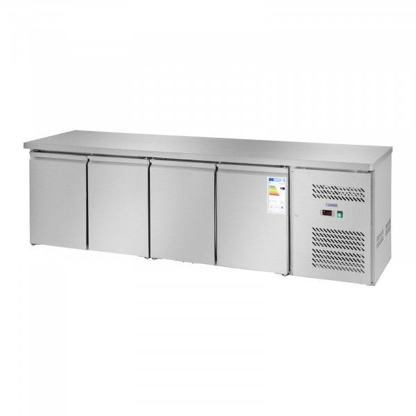 Mesa refrigerada - 450 L - 4 puertas