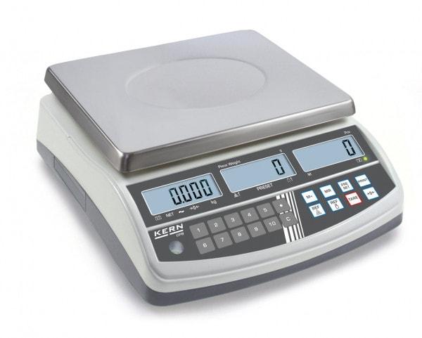 KERN Balanza cuentapiezas - 6000 g / 1 g - calibración opcional