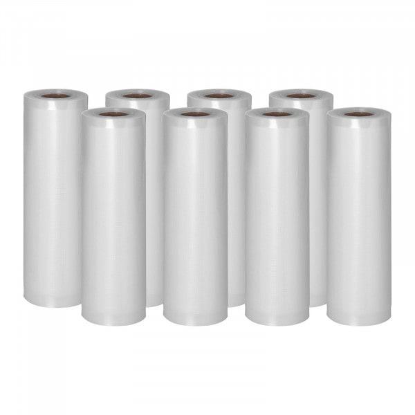 Rollos para envasar al vacío - 8 Rollos - 48 m - 20 cm