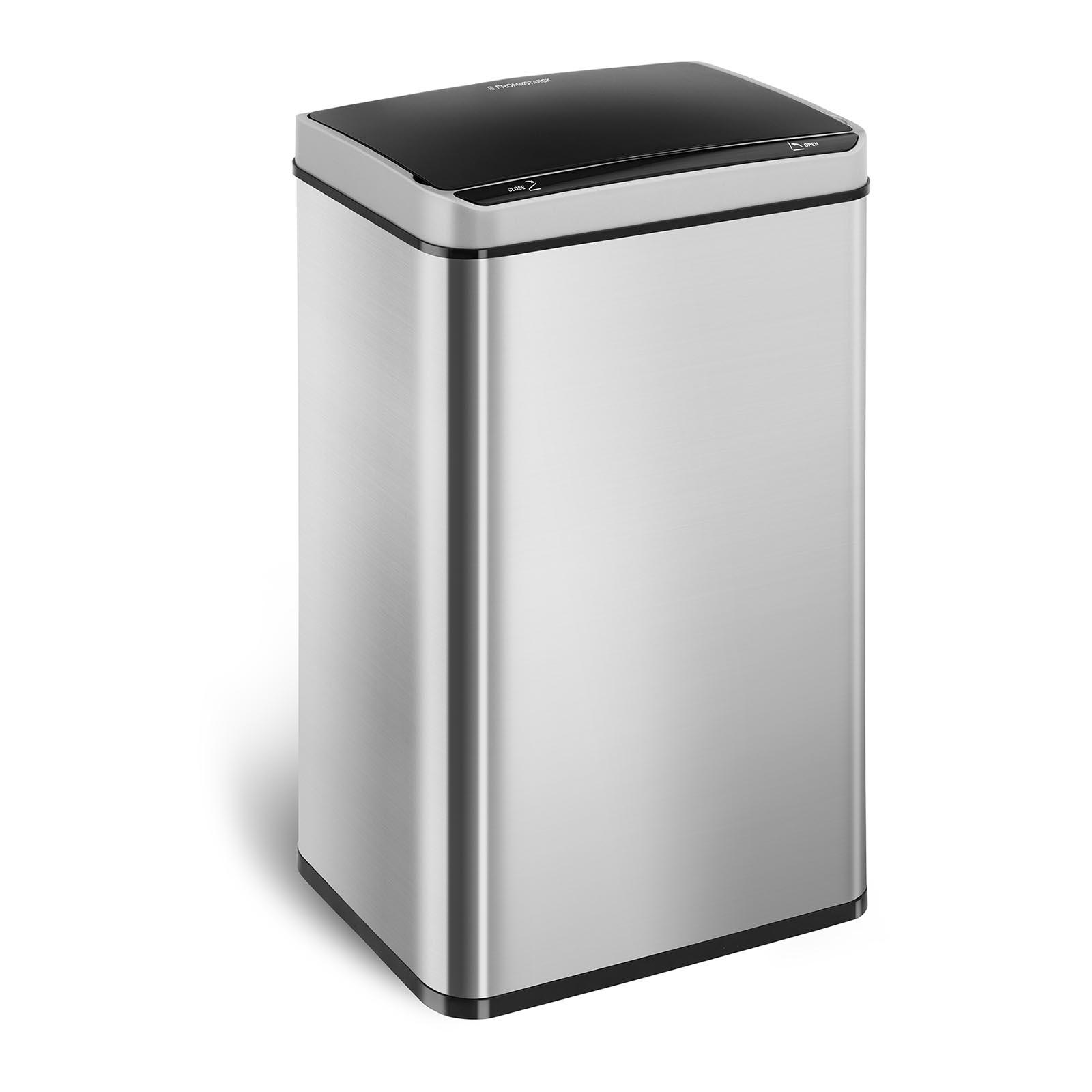 Cubo de basura con sensor