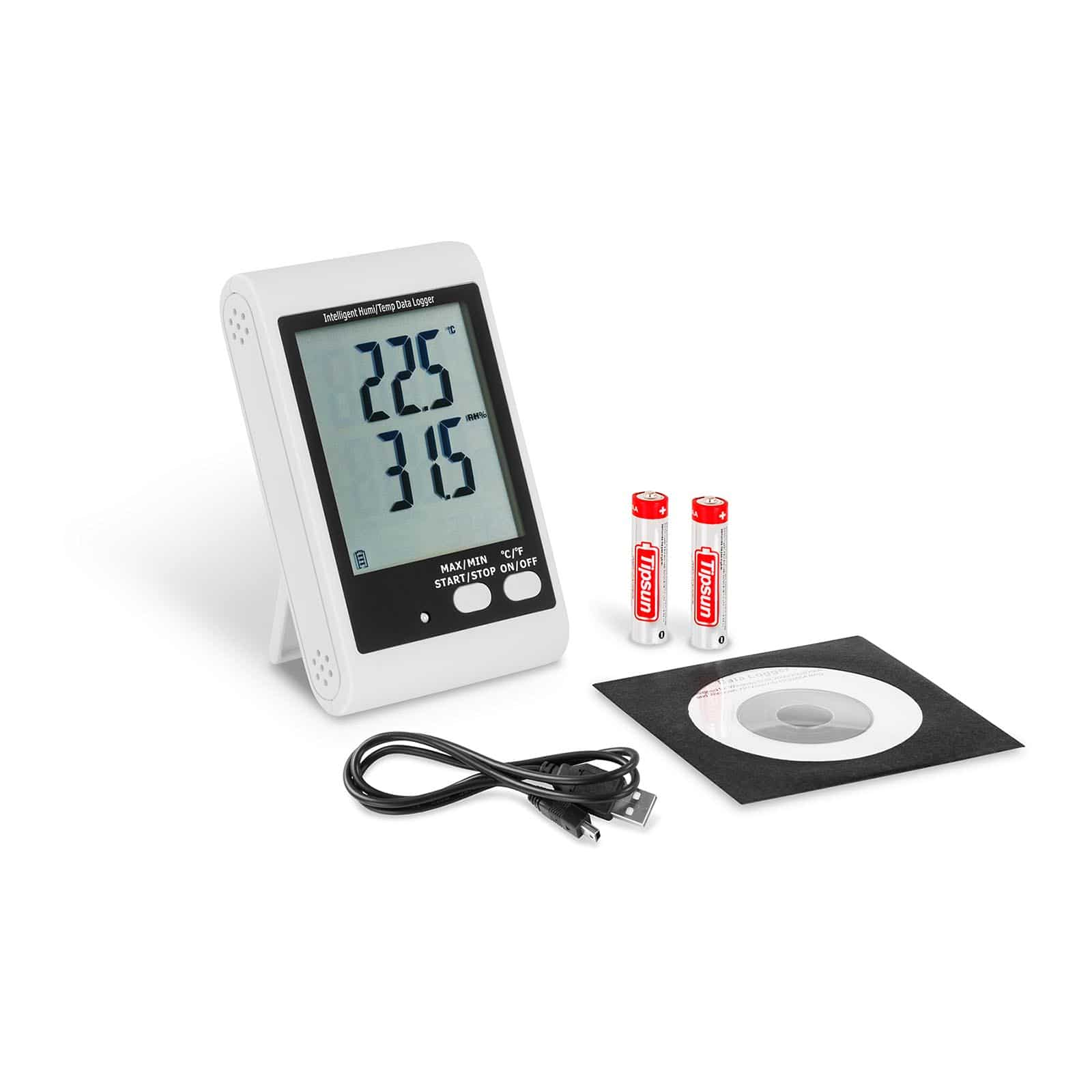 Data loggers para temperatura y humedad