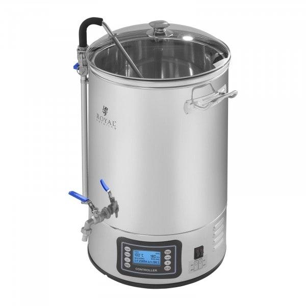 Máquina de elaborar cerveza - 30 litros - 2.500 watt