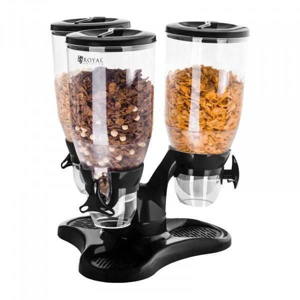 Segunda Mano Dispensador de cereales con 3 contenedores - 9 l