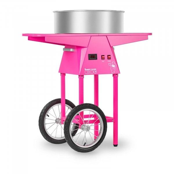 Máquina de algodón de azúcar con carrito - 52 cm - 1.030 W