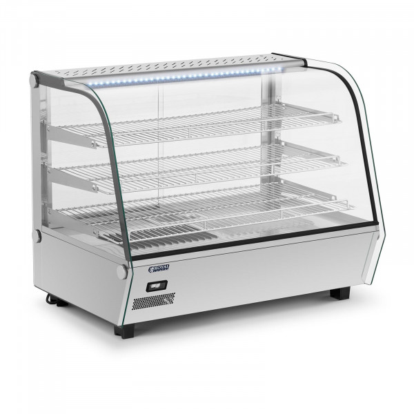 Vitrina caliente - 160 L - 1.500 W - iluminación