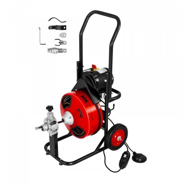 Máquina desatascadora de tambor 390 W para Ø 25 hasta 125 mm