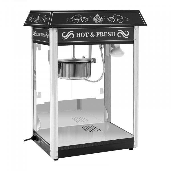Popcornmaschine schwarz - US-Design - 1545 - 1
